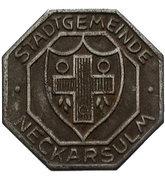 10 pfennig - Neckarsulm – revers