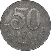 50 pfennig - Neckarsulm – revers