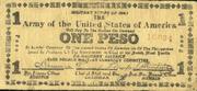 1 Peso (Free Negros) – avers