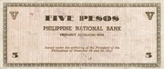 5 Pesos (Negros Occidental) – revers