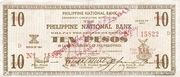 10 Pesos (Negros Occidental) – avers