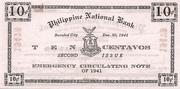 10 Centavos (Negros Occidental; Second issue) – revers