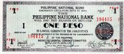 1 Peso (Negros Occidental) – avers