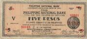 5 Pesos (Negros) – avers