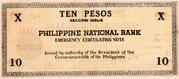 10 Pesos (Negros Occidental) – revers