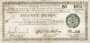 20 Pesos (Negros Oriental) – avers