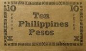 10 Pesos (Negros Emergency Currency Board) – revers