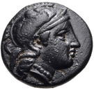 Bronze Æ10 (Neonteichos) – avers