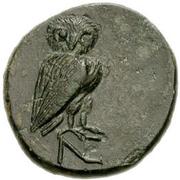 Bronze Æ17 (Neonteichos) -  revers