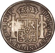 1 ducaton (Sumenep - Contremarqué) – revers