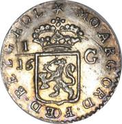 1/16 Gulden – avers