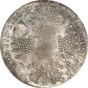 Ducaton - Sultan Paku Nata Ningrat - Madura star countermark on an Austrian Taler from 1752 – revers