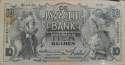 10 Gulden (De Javasche Bank) – avers