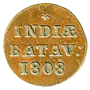 1/16 gulden (Batavia) – revers