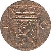 1 cent - Willem I (Sumatra) – avers