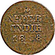 2 cents - Willem I (Sumatra) – revers