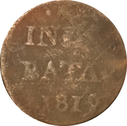 ½ Stuiver (Batavia) – revers