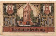 50 Pfennig (Neubrandenburg) -  avers