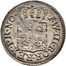 ½ Kreuzer - Friedrich Wilhelm III – avers