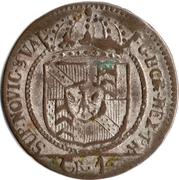 4 kreuzer - Friedrich Wilhelm II – avers