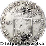 20 kreuzer - Marie de Nemours – revers