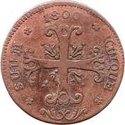 ½ batzen - Friedrich Wilhelm III – revers