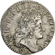10 kreuzer - Friedrich I – avers