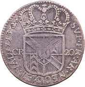 20 kreuzer - Friedrich I – revers