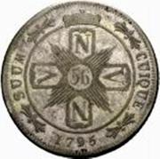 56 kreuzer - Friedrich Wilhelm II – revers