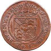 4 kreuzer - Friedrich Wilhelm III – avers