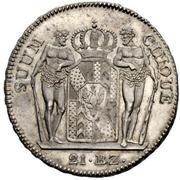 21 batzen - Friedrich Wilhelm III – revers