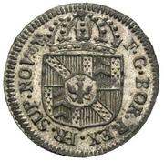 1 kreuzer - Friedrich Wilhelm II – avers