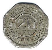 20 pfennig - Neuenbürg – avers