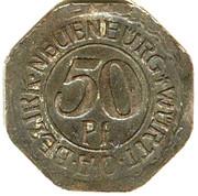 50 pfennig - Neuenbürg – avers