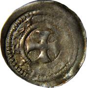 Denier Thibaud II (Seigneurie de Neufchâteau) – revers