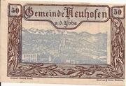 50 Heller (Neuhofen a. d. Ybbs) – avers