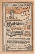 20 Heller (Neuhofen a. d. Ybbs) – avers