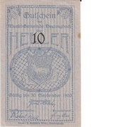 10 Heller (Neulengbach) – avers