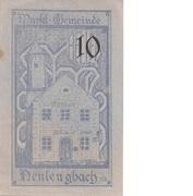 10 Heller (Neulengbach) – revers