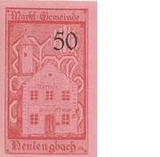50 Heller (Neulengbach) – revers