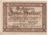 10 Heller (Neumarkt a. d. Ybbs) – avers
