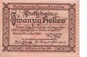 20 Heller (Neumarkt a. d. Ybbs) – avers