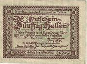 50 Heller (Neumarkt a. d. Ybbs) – avers