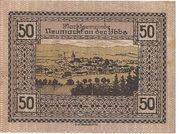 50 Heller (Neumarkt a. d. Ybbs) – revers