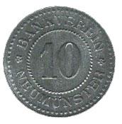 10 pfennig - Neumünster – avers