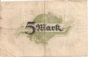 5 Mark – revers