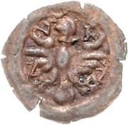 1 Pfennig (Kipper) – avers