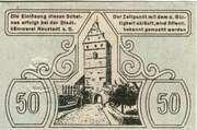 50 Pfennig (Stadt Neustadt a. Saale) – revers
