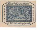 25 Pfennig (Bezirkssparkasse) – avers