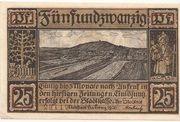 25 Pfennig (Neustadt bei Coburg) – avers